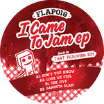 THAT PERUVIAN BOY - I Came To Jam EP (Front Cover)
