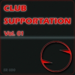 FRONT/VARIOUS - Club Supportation Vol 01 (unmixed tracks) (Front Cover)