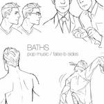 BATHS - Pop Music/False B Sides (Front Cover)