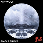 KRY WOLF - Black & Blue EP (Front Cover)