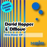 DAVID HOPPER/DMORSE - Nite Rider EP (Front Cover)