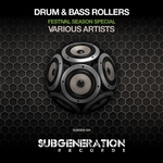 VARIOUS - Drum & Bass Rollers (Festival Season Special) (Front Cover)
