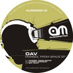 DAV - Marisol From Space EP (Front Cover)