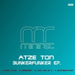 ATZE TON - Bunkerfunker EP (Front Cover)