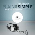 MARCO P - Plain & Simple (Front Cover)