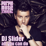 DJ SLIDER - All You Can Do (Front Cover)