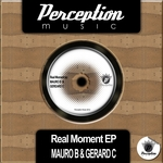 MAURO B/GERARD C - Real Moment EP (Front Cover)