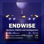ENDWISE JP - Quavers, Triplets & Semiquavers (Front Cover)