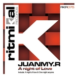 JUANMY R - A Night Of Love (Front Cover)