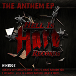 BAXTA/HITMAN/RIKO/RELAPSE - The Anthem EP (Front Cover)