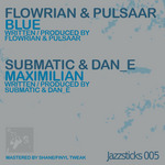 FLOWRIAN/PULSAAR/SUBMATIC/DAN E - Blue (Front Cover)