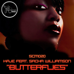 KAJE feat SACHA WILLIAMSON - Butterflies (Front Cover)
