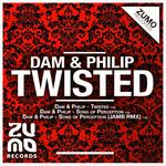 DAM/PHILIP - Twisted EP (Front Cover)