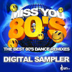 VARIOUS - Miss You 80's (Front Cover)