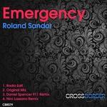 SANDOR, Roland - Emergency (Front Cover)