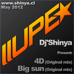 DJ SHINYA - 4D & Big Sun (Front Cover)