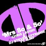Mrs So & So