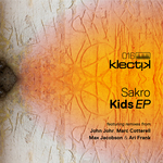 SAKRO - Kids EP (Front Cover)