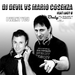 DJ DEVIL/MARIO COSENZA feat LUCY D - I Want You (Front Cover)