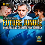 AQUASKY - Future Jungle & Drumstep (Sample Pack WAV/APPLE/LIVE/REASON) (Front Cover)