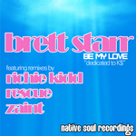 STARR, Brett - Be My Love (Front Cover)