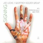 LOCKE,Joe/GEOFFREY KEEZER GROUP - Signing (Front Cover)