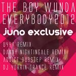 BOY WUNDA, The - Everybody 2012 (Back Cover)