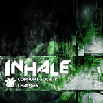 INHALE - Corrupt Society (Front Cover)