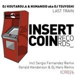 DJ KOUTAROU A/NUMANOID aka DJ TSUYOSHI - Last Train (Front Cover)