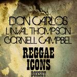 VARIOUS - Reggae Icons Boxset Platinum Edition (Front Cover)