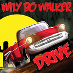 WILY BO WALKER - Drive (Front Cover)