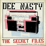 DEE NASTY - The Secret Files Vol  I (Front Cover)