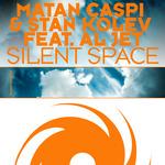 CASPI, Matan  & STAN KOLEV FEATURING AL JET - Silent Space (Front Cover)