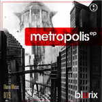 BLURIX - Metropolis EP (Back Cover)