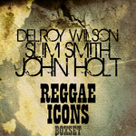 WILSON, Delroy/SLIM SMITH/JOHN HOLT - Reggae Icons Boxset Platinum Edition (Front Cover)
