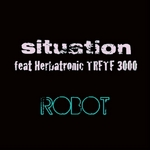 SITUATION feat HERBATRONIC TRFTF 3000 - Robot (Front Cover)