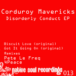 MAVERICKS, Corduroy - Disorderly Conduct Ep (Front Cover)