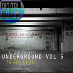 DJ MAD - Underground Vol 5 (Front Cover)