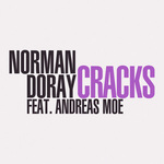 DORAY,Norman feat ANDREAS MOE - Cracks (Front Cover)
