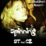 ST feat CZ - Spinning (Front Cover)