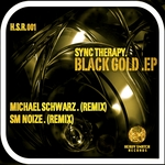 SYNC THERAPY - Black Gold EP (Front Cover)