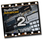 GROOVE 3 INC - Studio One 2 Advanced (Video Tutorial) (Front Cover)
