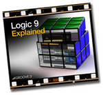 GROOVE 3 INC - Logic 9 Explained (Video Tutorial) (Front Cover)
