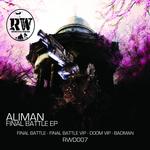 ALIMAN - Final Battle EP (Front Cover)