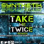 SYNTHETIK - Take Me Twice EP (Front Cover)