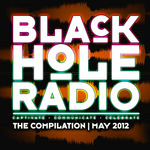 VARIOUS - Black Hole Radio May 2012 (Front Cover)