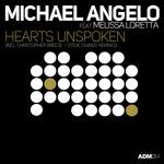 MICHAEL ANGELO feat MELISSA LORETTA - Hearts Unspoken (Front Cover)