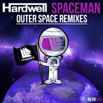 HARDWELL - Spaceman (Outer Space Remixes) (Front Cover)