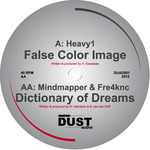HEAVY1/MINDMAPPER & FRE4KNC - False Color Image/Dictionary Of Dreams (Front Cover)