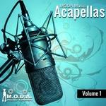 VARIOUS - MODA Music Acapellas Vol 1 (Front Cover)